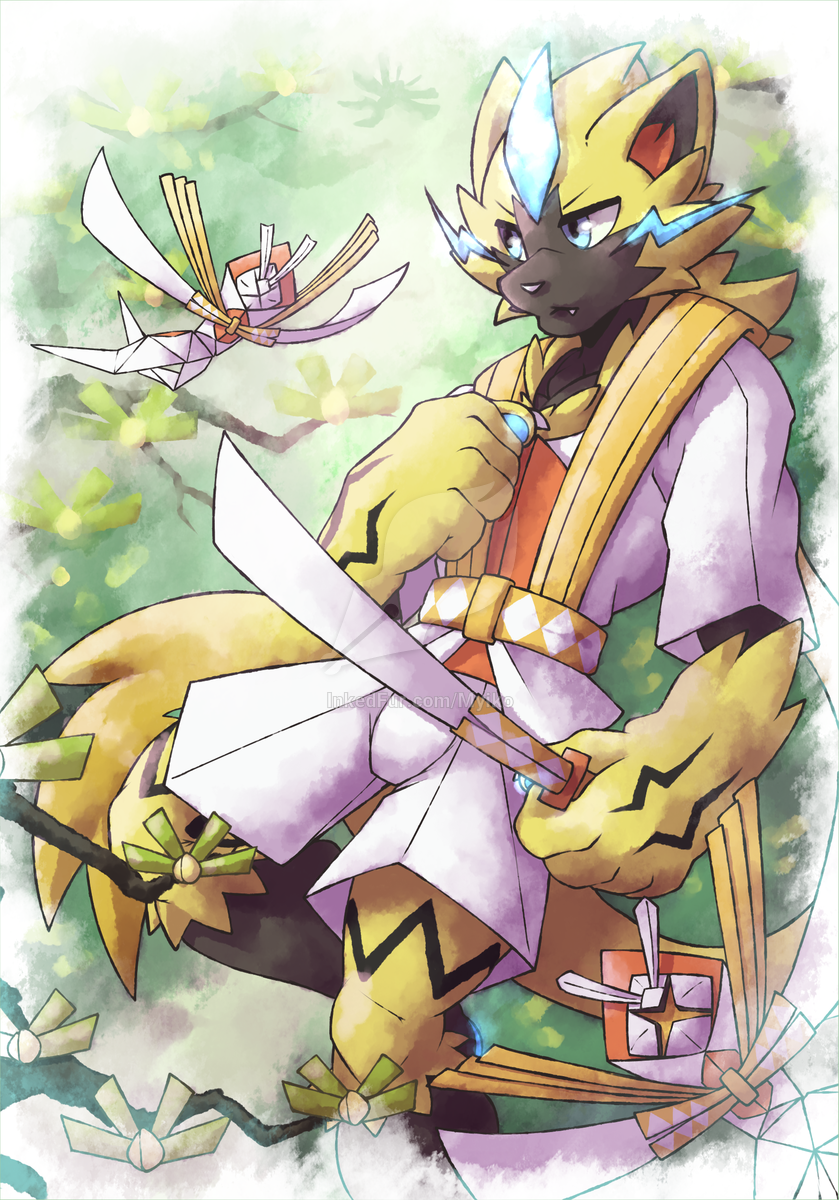 UltraForest Warrior Zeraora